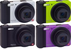 Обективът на компактната камера PENTAX Optio RZ10 обхваща диапазон 28-280 мм